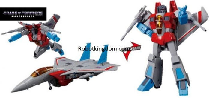 TAKARA TOMY TRANSFORMERS MASTERPIECE MP-52 Starscream Ver 2.0. Preorder. Available in June 2021.