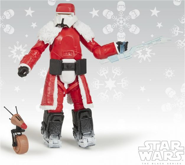 """Exclusives Star Wars Black Series 6"""" Range Trooper (Holiday Edition). Preorder. Available in Dec 2020."""