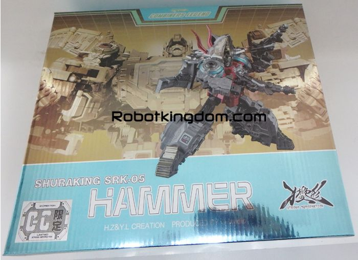 GCreation Shuraking SRK-05 Hammer Blue Version. Limited to 300pcs worldwide. Available Now!
