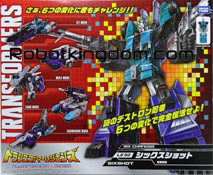 Takara Transformers Legends LG-50 - Sixshot. Available Now!