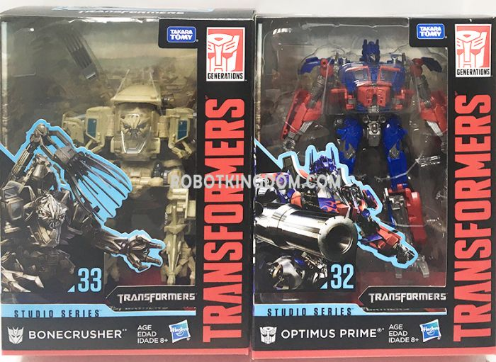 Hasbro Transformers Studio Series VOYAGER Wave 5 set of 2. (BONECRUSHER , OPTIMUS PRIME (NEW)). Available Now!