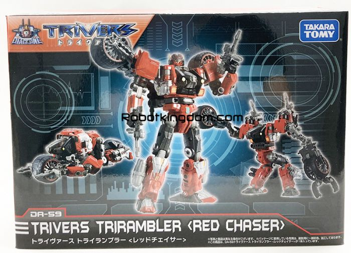 Takaratomy Mall Exclusive DIACLONE DA-59 TRYVERSE TRI RAMBLER <RED CHASER>. Available Now!