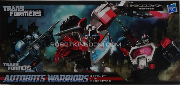 Takara Henkei Autobot Warriors Three Pack Kup, Ratchet and Perceptor. Asia Exclusive (Non Japan Release). Available Now!