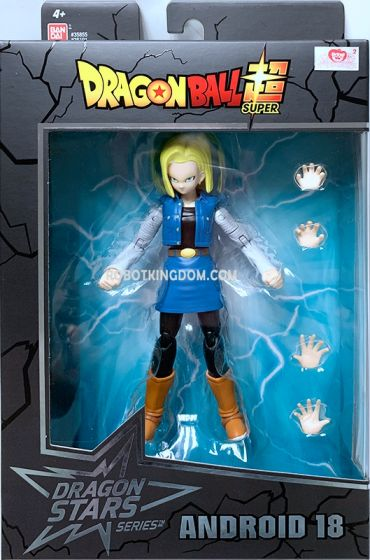 """Dragon Ball Super 6"""" Android 18. Available Now!"""