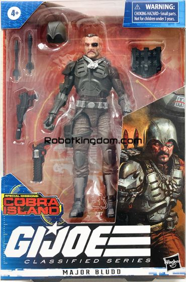 """G.I. Joe Classified Series Cobra Island 6"""" THEMED Figures set of 3 (Major Bludd, Firefly and Cobra Viper). Last secondary market restock, limited qty supply. Available Now!"""
