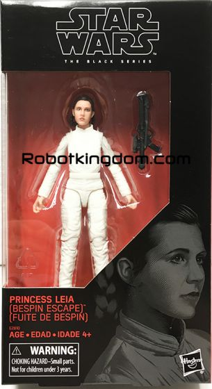 """Star Wars Exclusives Black Series 6"""" BESPIN LEIA. Available Now!"""
