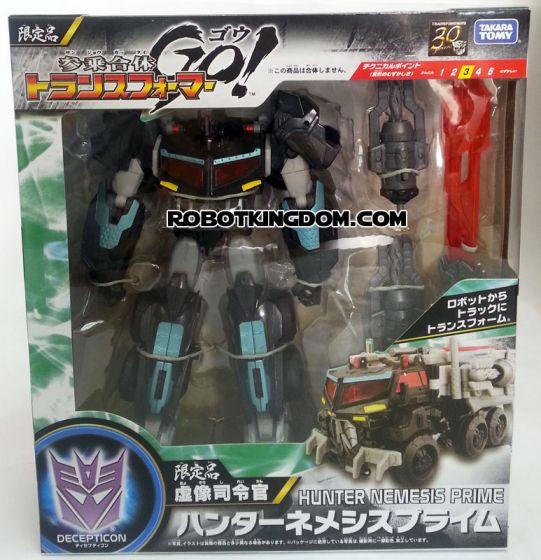 Takara Transformers Go BLACK Hunter Optimus Prime (Nemesis Prime). Start shipping now!