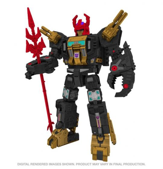 Exclusive Transformers Generations Selects War for Cybertron Titan Black Zarak. Preorder. Available in 1st January 2022.