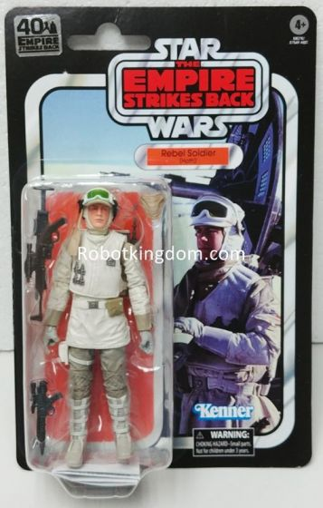 "Star Wars The Black Series 6"" 40th Anniversary Hoth Rebel Soldier. Available Now!"