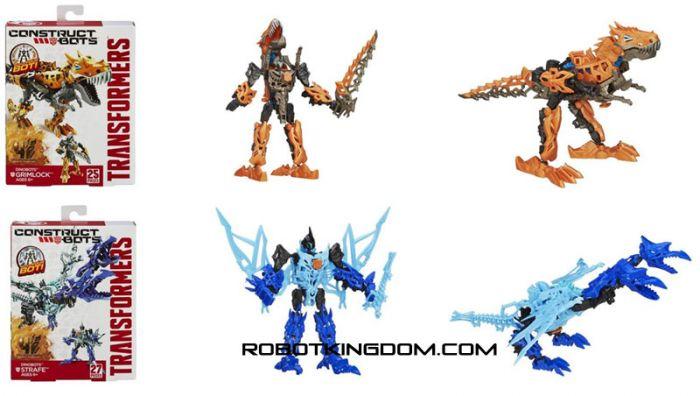 Movie 4 Construct Bots Dinobot Wave 1 Set of 2.