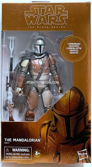 """Star Wars Black Series 6"""" The Mandalorian Carbonized. Available Now!"""