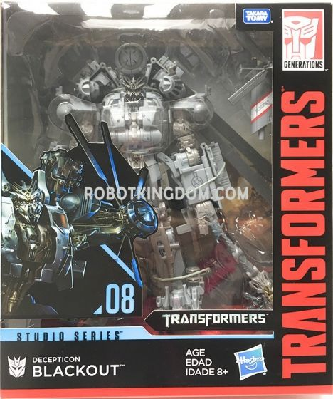 Hasbro Transformers Studio Series  LEADER BLACKOUT. Available Now!