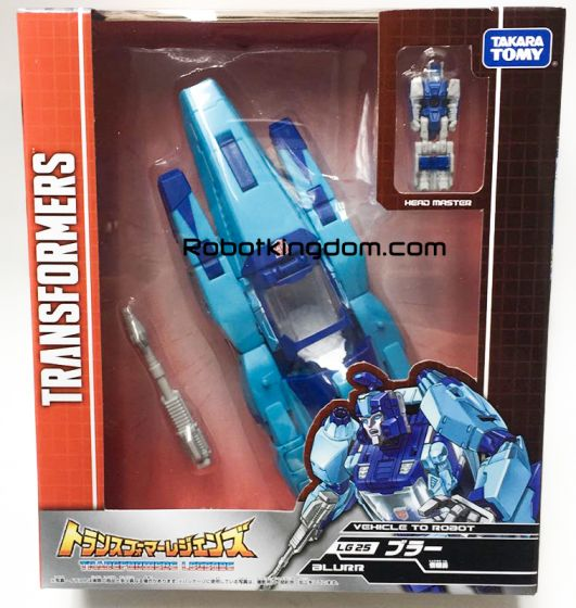 Transformers Legends LG-25 Blurr. Available Now!