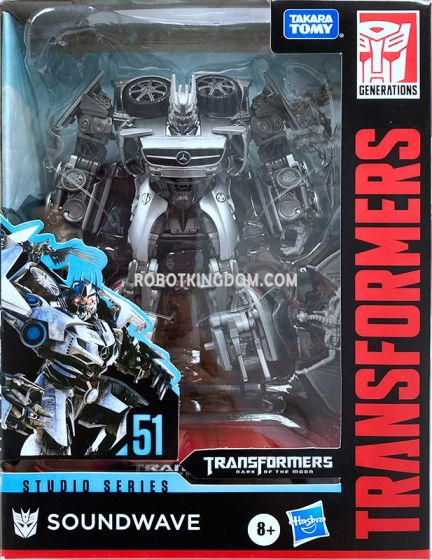 Transformers Generations STUDIO SERIES DELUXE SOUNDWAVE. Available Now!