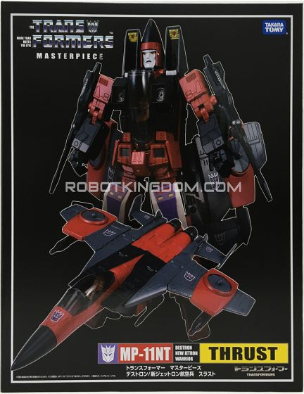 Takara Tomy Mall Exclusive Transformers Masterpiece MP-11NT Thrust. Available Now!