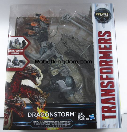 Transformers Movie 5 - The Last Knight Leader Dragonstorm. Available Now!