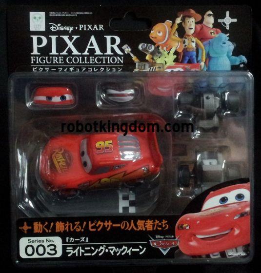 Kaiyodo Revoltech Pixar figure collection 003 Lighting Mcqueen.