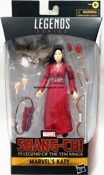 "HASBRO Marvel Legends Marvel Shang Chi 6"" Marvel Katy. Available Now!"