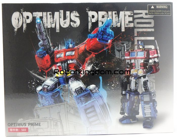 MU Model Transformers photo etched G1 Optimus Prime. Availalbe Now!