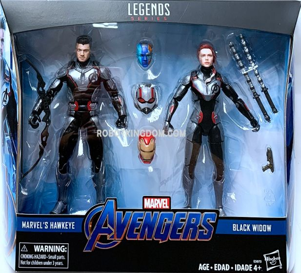 """Exclusive MARVEL LEGENDS AVENGERS 6"""" TEAM SUIT 2-PACK. Available Now!"""