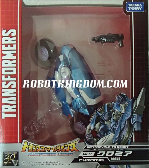 Transformers Legends LG-11 Chromia.  Available Now!