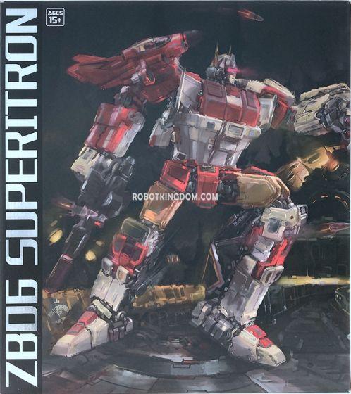 Zeta Toys ZB-06 Superitron. Available Now!