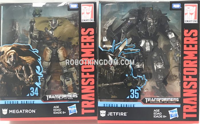 Hasbro Transformers Studio Series  LEADER Wave 2 set of 2. (MV3 MEGATRON, JETFIRE). Available Now!