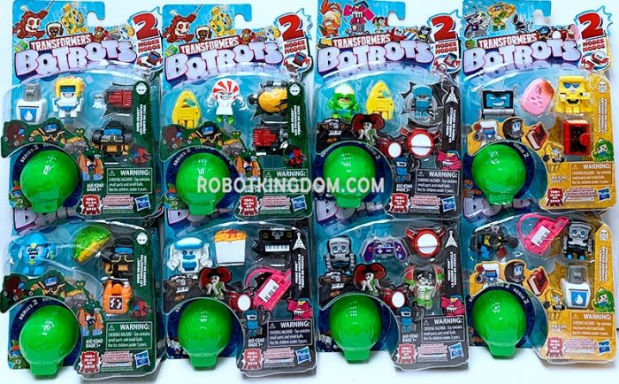 Transformers Bot Bots 5 Pack Wave 2 Case of 8. Available Now!