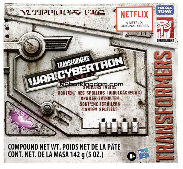Exclusives Transformers Netflix Siege of Cybertron Unboxing.