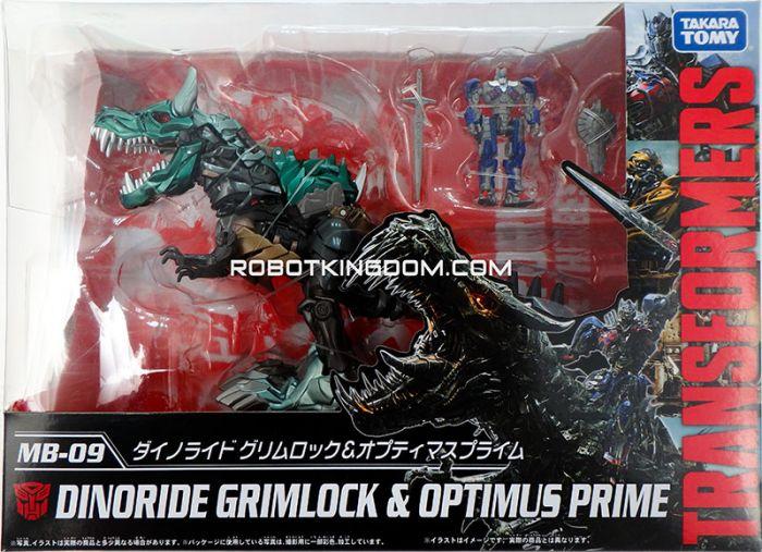 Takara Transformers Movie 10th Anniversary Reissues MB-09 - Dinobot Grimlock & Optimus Prime. Available Now!