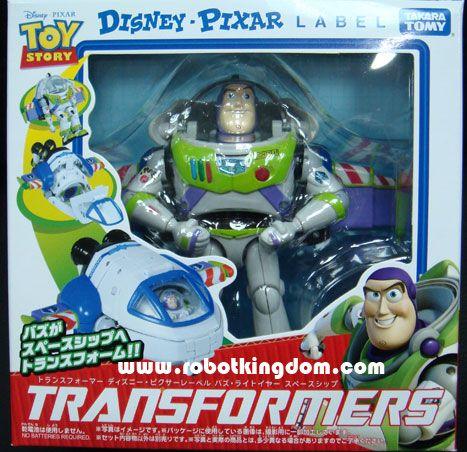 Transformers Disney Label - Buzz Lightyear Spaceship.