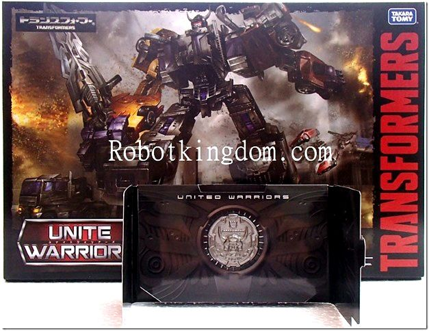 Transformers United Warriors UW-02 Menasor with Exclusive Coin. Available Now!