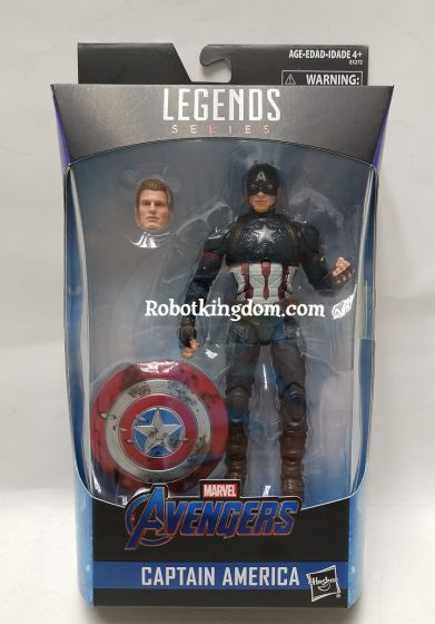 "Exclusive Marvel Legends Endgame 6"" Captain America with hammer. Last Restock! Available Now!"