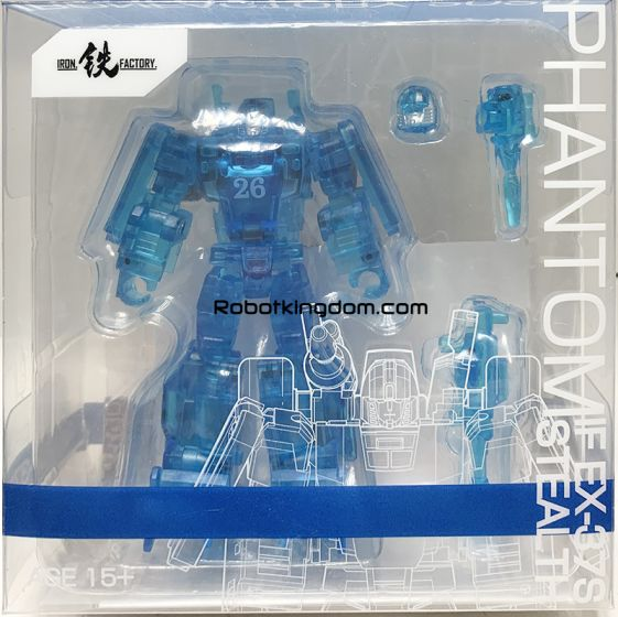 Iron Factory IF-EX37S Phantom (Stealth Version). Limited to 1999pcs. Available Now!