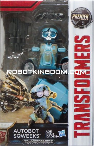 Hasbro Transformer Movie 5 The Last Knight – AUTOBOT SQWEEKS. Available Now!