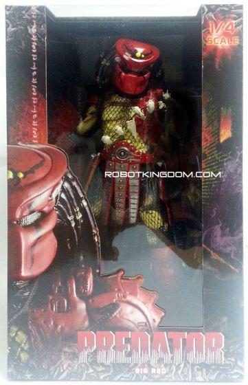 NECA Predators 1/4 Scale Figure Series 3 Big Red & Elder Predator Sealed Case of 2. Available Now!