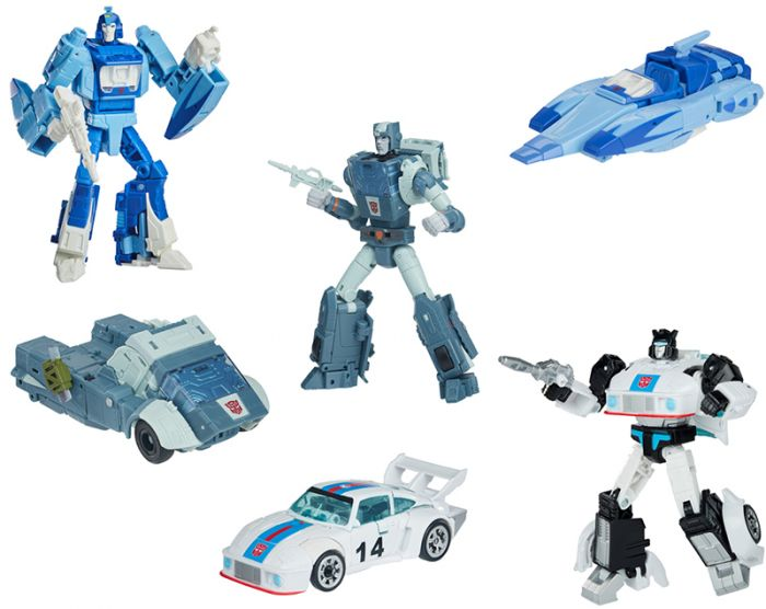 Hasbro Transformers Studio Series DELUXE 2020 Wave 4 Case of 8. (KUP, BLURR, JAZZ). Preorder. Start Shipping on 1st April 2021.