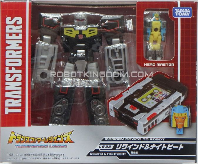Transformers Legends LG-28 Rewind & Nightbeat. Available Now!
