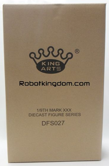 King Arts - 1/9 Diecast Figure Series - DFS027- Iron Man Mark 30. Available Now!