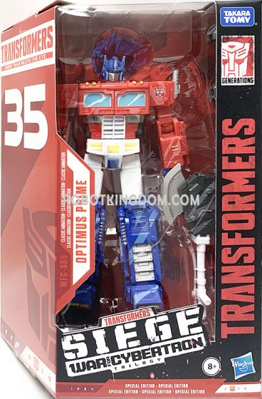 Transformers 35th Generations 2019 Siege of cybertron Siege Voyager Optimus Prime. Available Now!