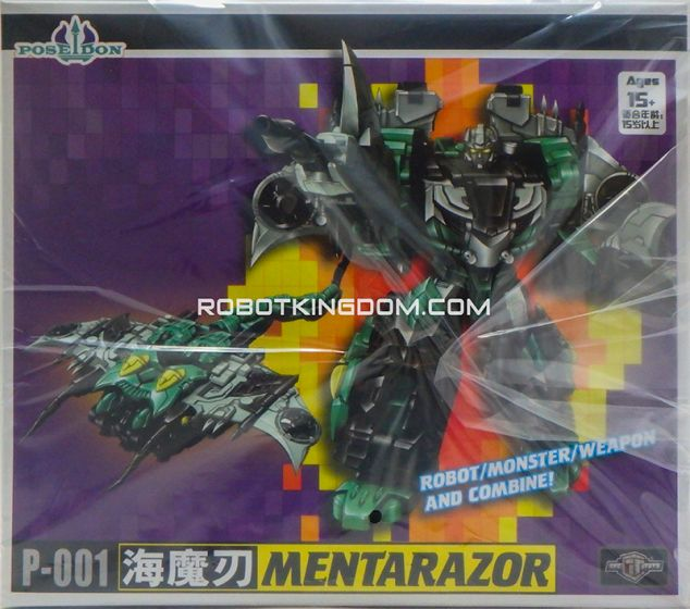 TFC Combiner Poseidon P-01 Mentarazor. Available Now!