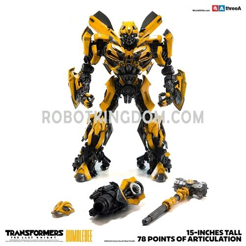 Hasbro x ThreeA : BUMBLEBEE Transformers The Last Knight Premium Scale Collectible Series. Available Now!