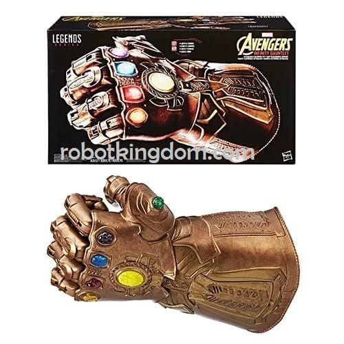 Avengers LEGENDS GEAR INFINITY GAUNTLET. Available Now!