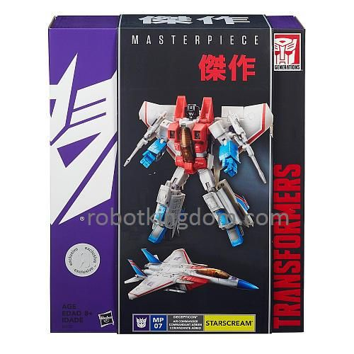Hasbro Masterpiece Starscream (TRU Exclusive). Last piece. Available Now!