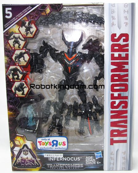 TRU Exclusive Transformers Movie 5 The Last Knight - INFERNOCUS. Available Now!