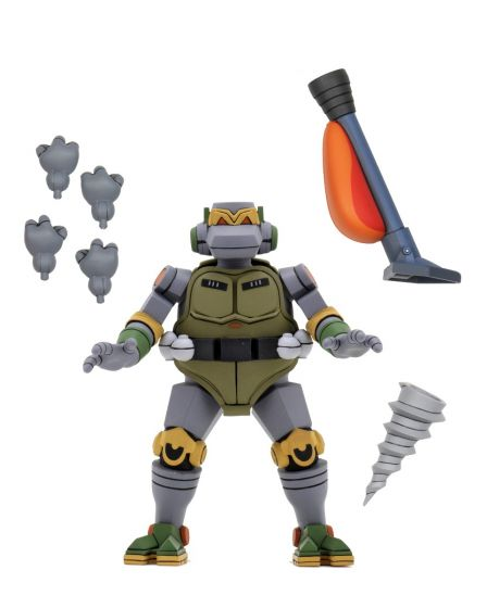 "Neca Teenage Mutant Ninja Turtles - 7"" Scale Action Figure - Cartoon Metalhead Ultimate Figure. Preorder. Available in July 2020."