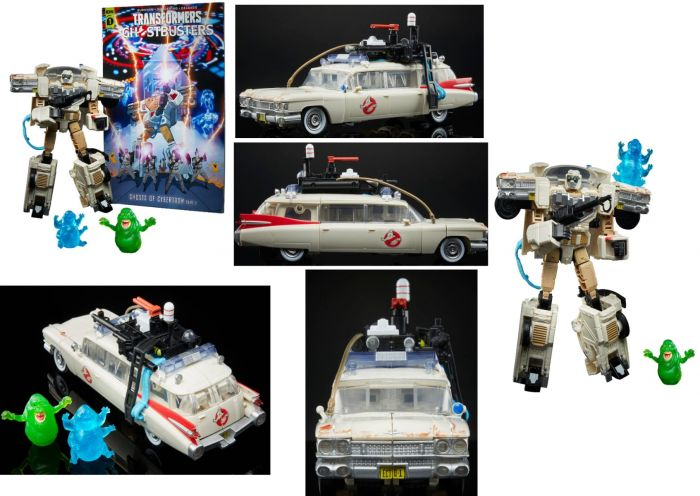 Transformers: Generations – Transformers Collaborative: Ghostbusters: Afterlife Ecto-1 Ectotron. Preorder. Start Shipping on 1st January 2021.