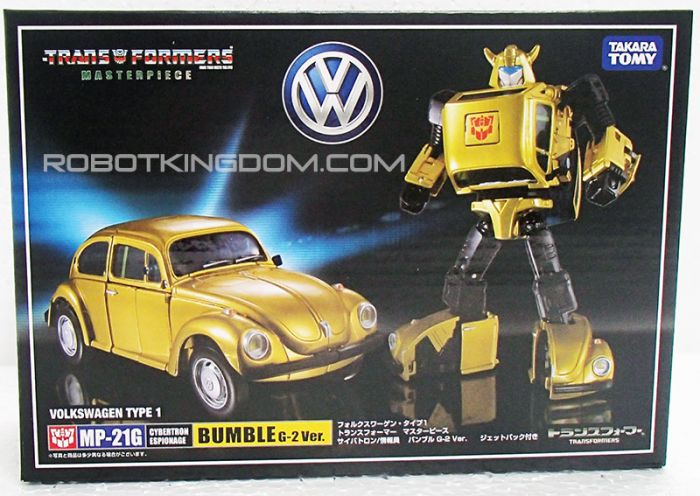 Takara Transformers Masterpiece MP-21G Bumblebee G2 Ver. with Exclusive Coin.