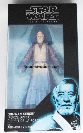 "Walgreens Exclusive STAR WARS: Episode VIII – The Last Jedi Black Series 6""  Spirit Obi Wan. Available Now!"