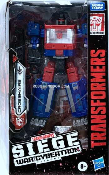 Transformers Generations WFC DELUXE AST W5 CROSSHAIRS SOLID. Available Now!
